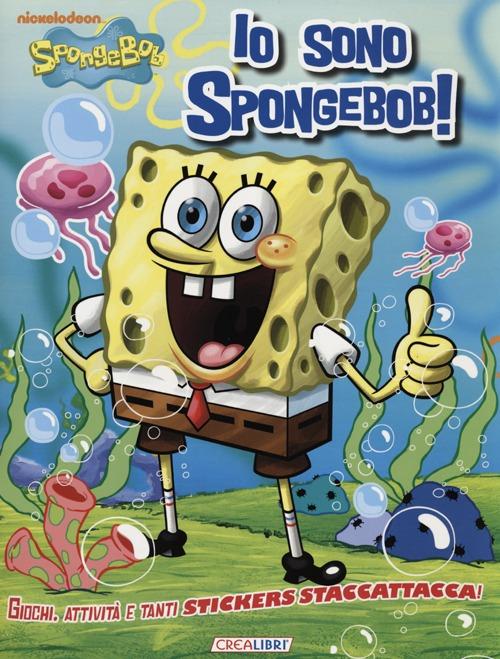 Io sono SpongeBob! Con adesivi.