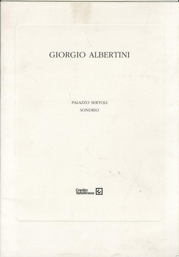 Giorgio Albertini. L'arte della finzione. Opere dal 1984 al 1994
