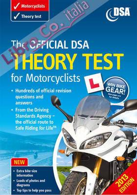 Theory Test For Motorcyclists Book 2012.