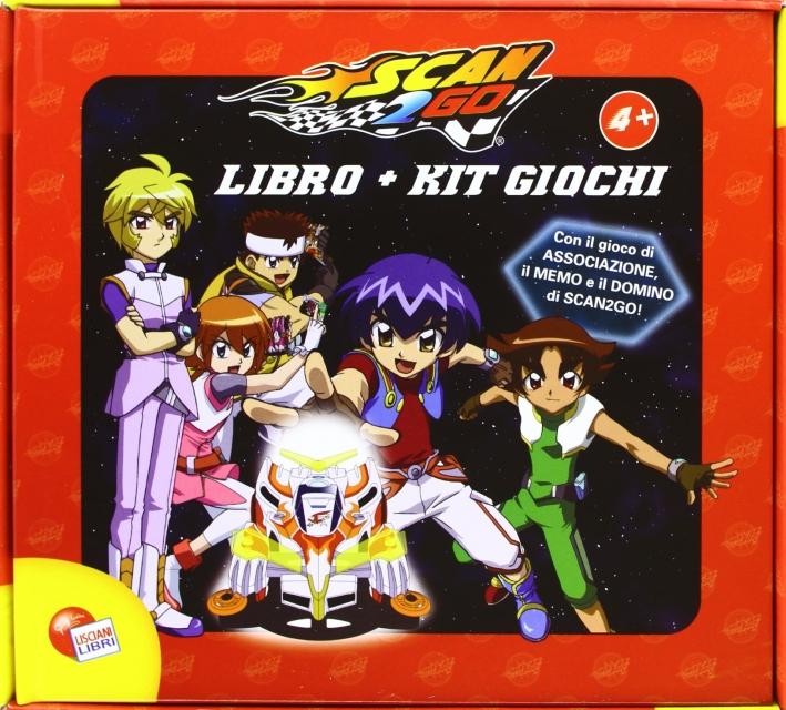 Scan2go. Libro - Kit Giochi. con Gadget