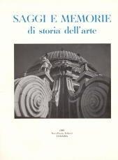 Saggi e memorie di storia dell'arte. 3