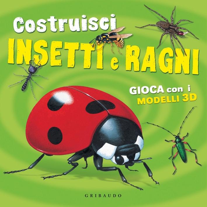 Costruisci insetti e ragni. Con gadget
