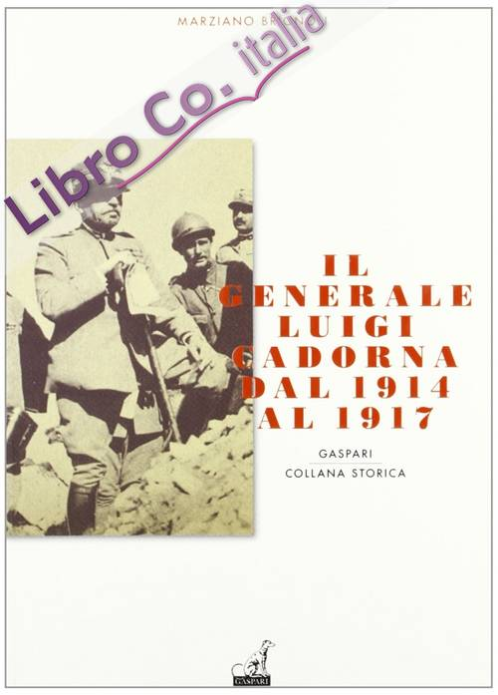 Il generale Luigi Cadorna dal 1914 al 1917