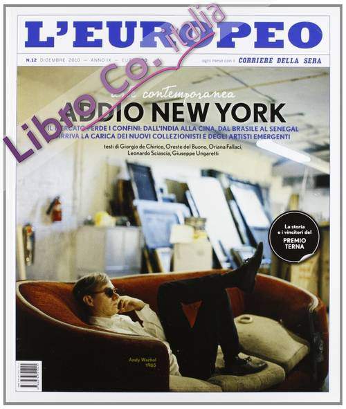 L'europeo. Addio a New York
