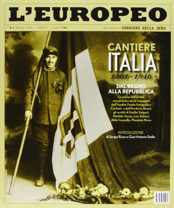 L'europeo (2011). Vol. 3: Cantiere Italia