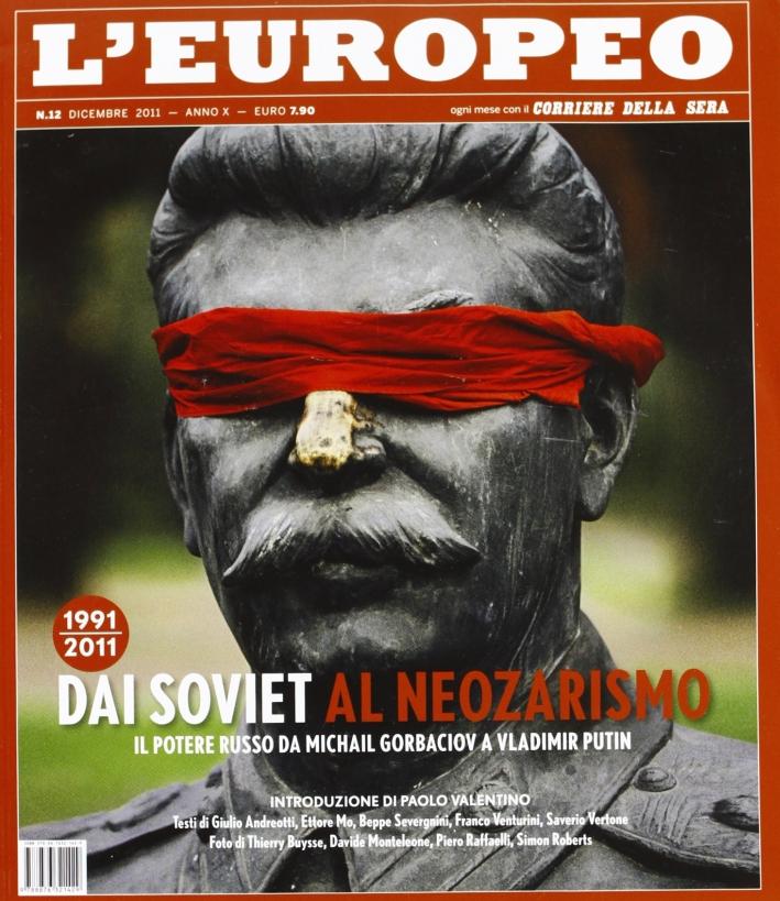 L'europeo (2011). Vol. 12: Dai Soviet al neozarismo