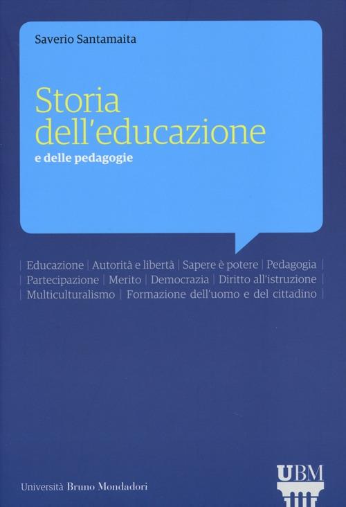 Storia dell'educazione e delle pedagogie
