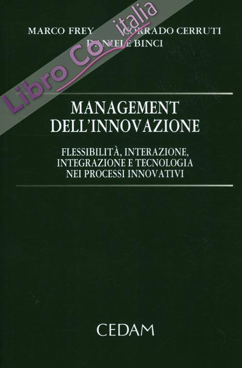 Management dell'innovazione. Flessibilità, interazione, integrazione e tecnologia nei processi innovativi.