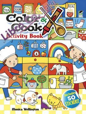 Color & Cook Activity Book.
