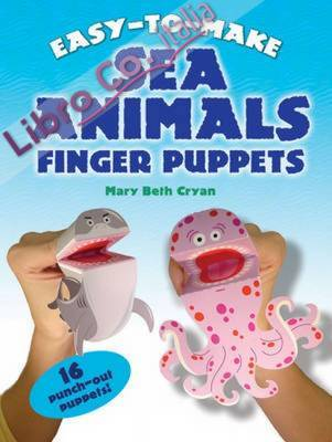Easy-to-Make Sea Animals Finger Puppets.