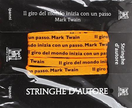 Stringhe d'autore. Mark Twain. Con gadget.