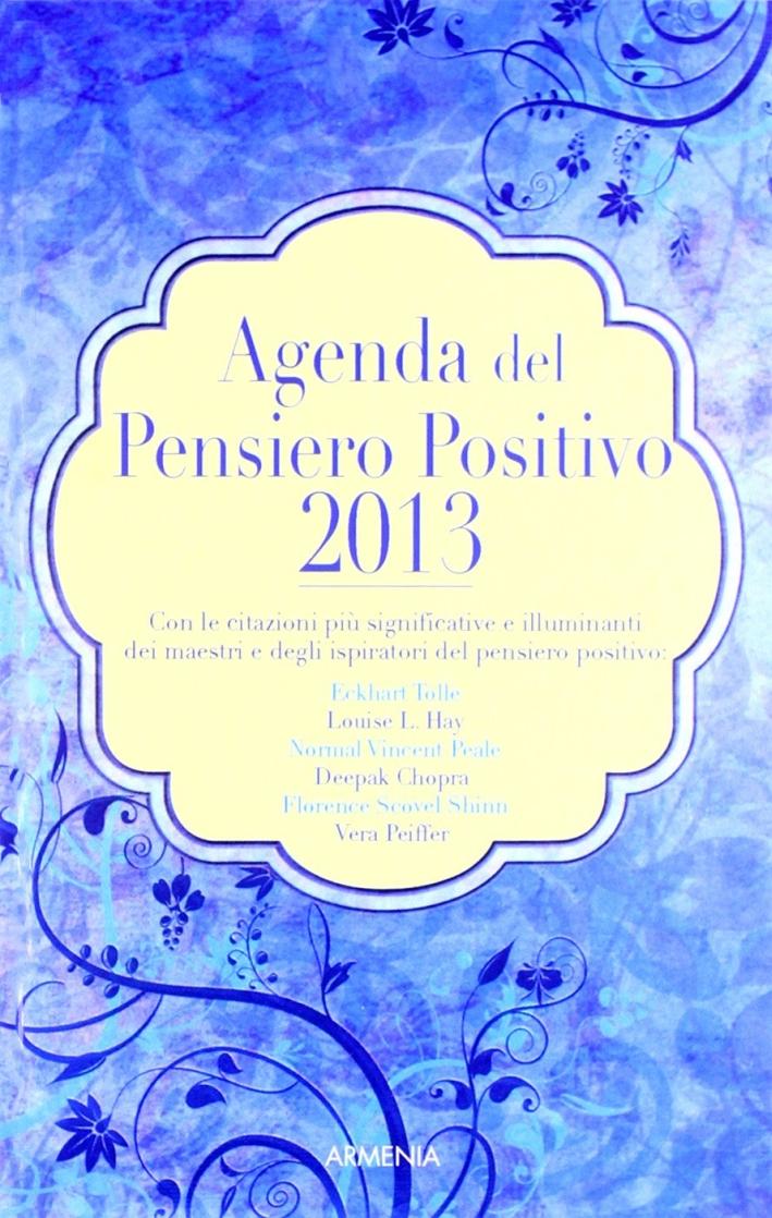 Agenda del pensiero positivo 2013.