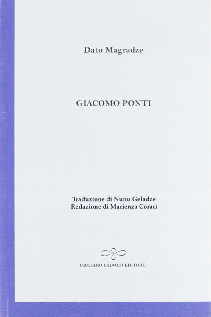 Giacomo Ponti.