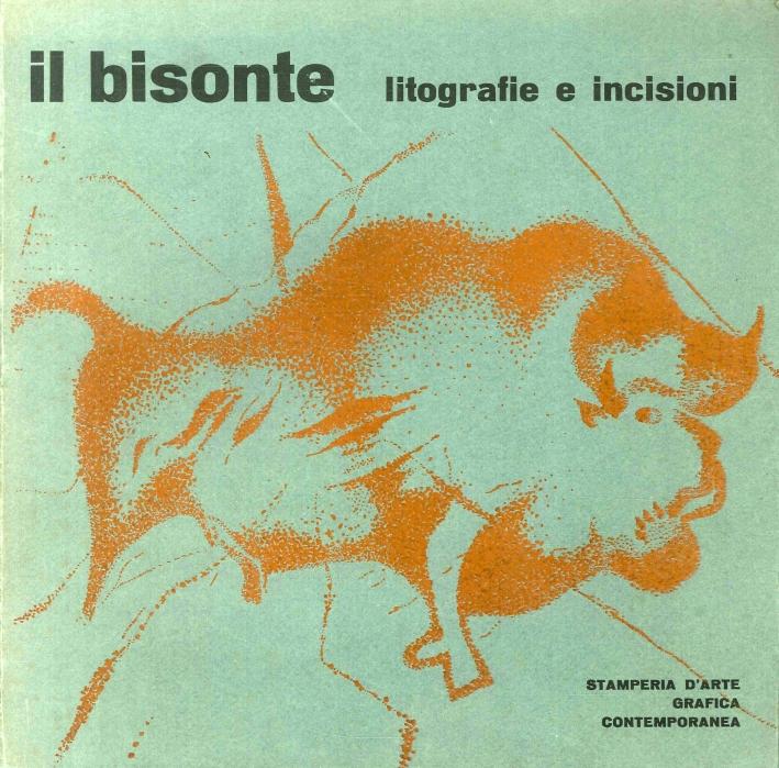 Il bisonte.  Catalogo litografie e incisioni originali