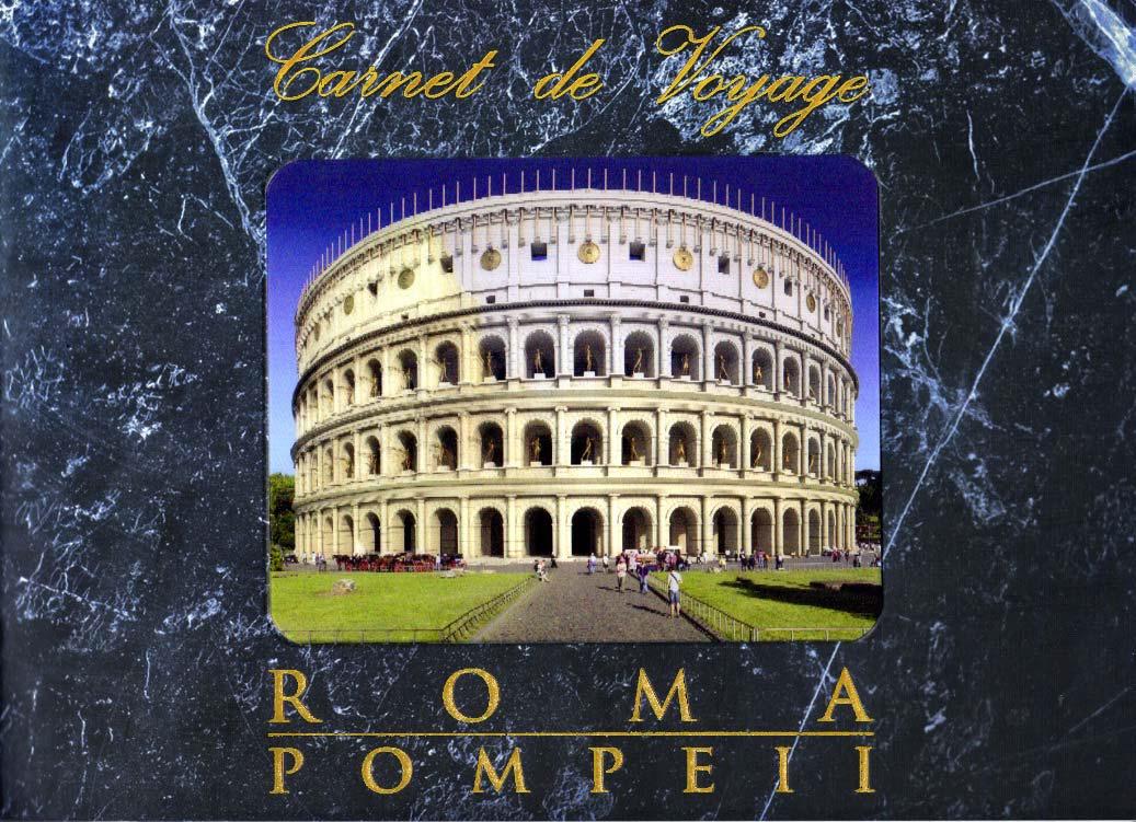 Carnet De Voyage. Roma. Pompeii.