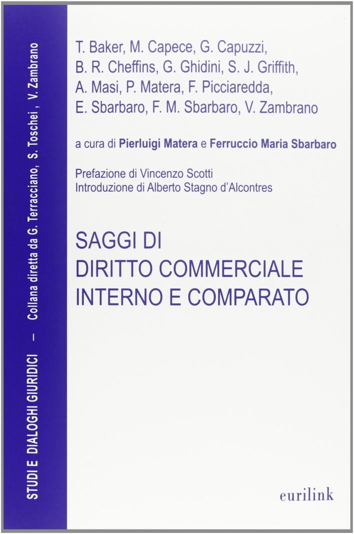 Saggi di diritto commerciale interno e comparato