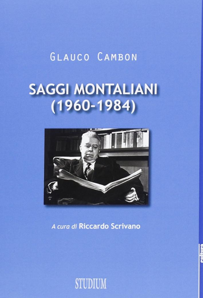 Saggi montaliani (1960-1984)