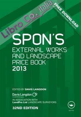 Spon's External Works and Landscape Price Book 2013