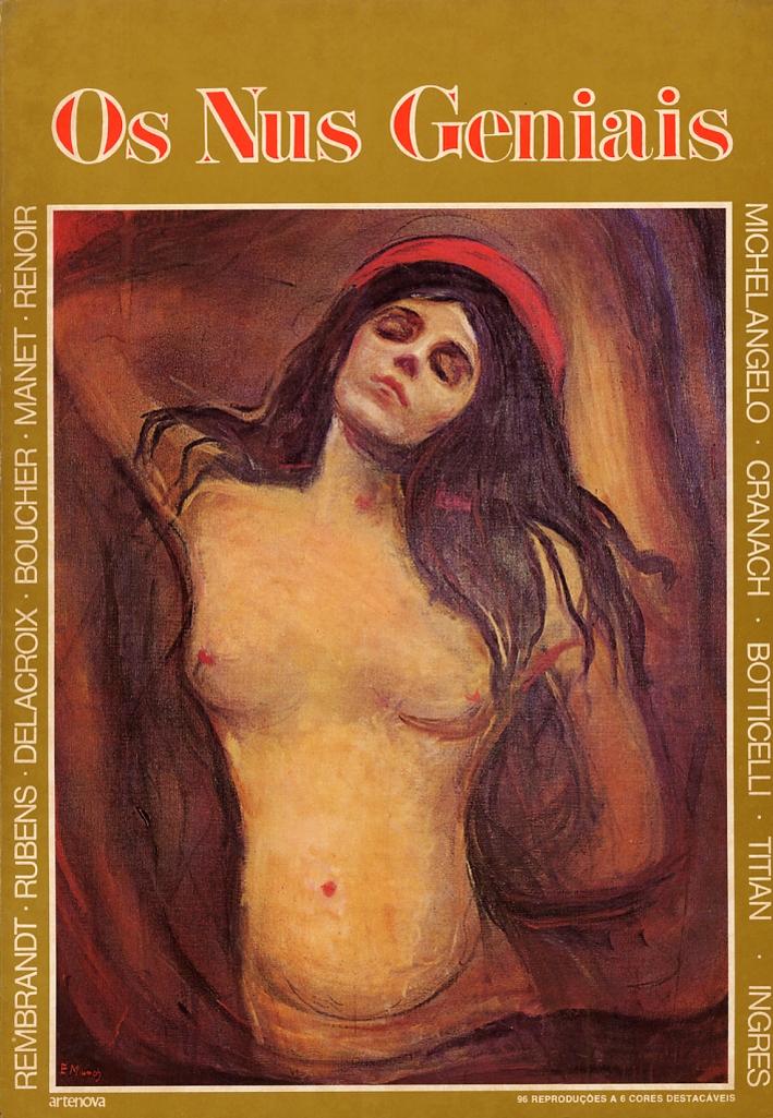 Os Nus Geniais. 106 reproducoes selecionadas e apresentadas por Malcolm Cormack. [Portuguese ed.]