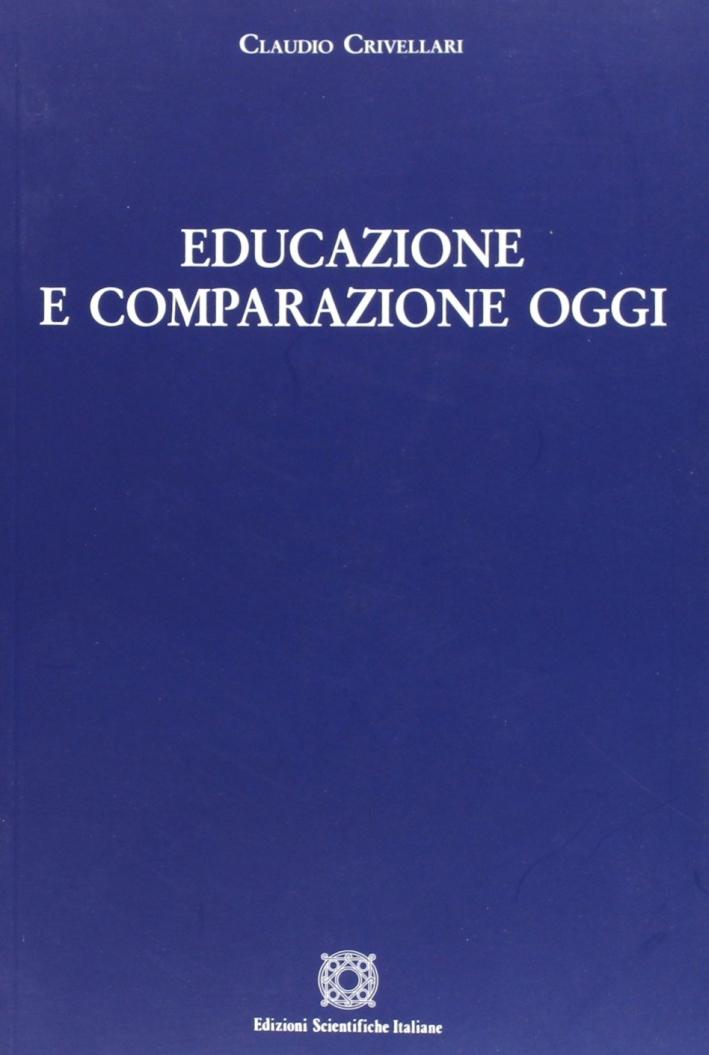 Educazione e comparazione oggi