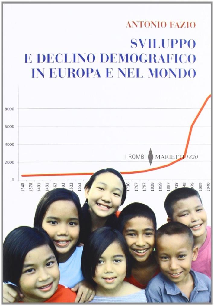 Sviluppo e declino demografico in Europa e nel mondo. Proiezioni e problemi. Conseguenze economiche e sociali.
