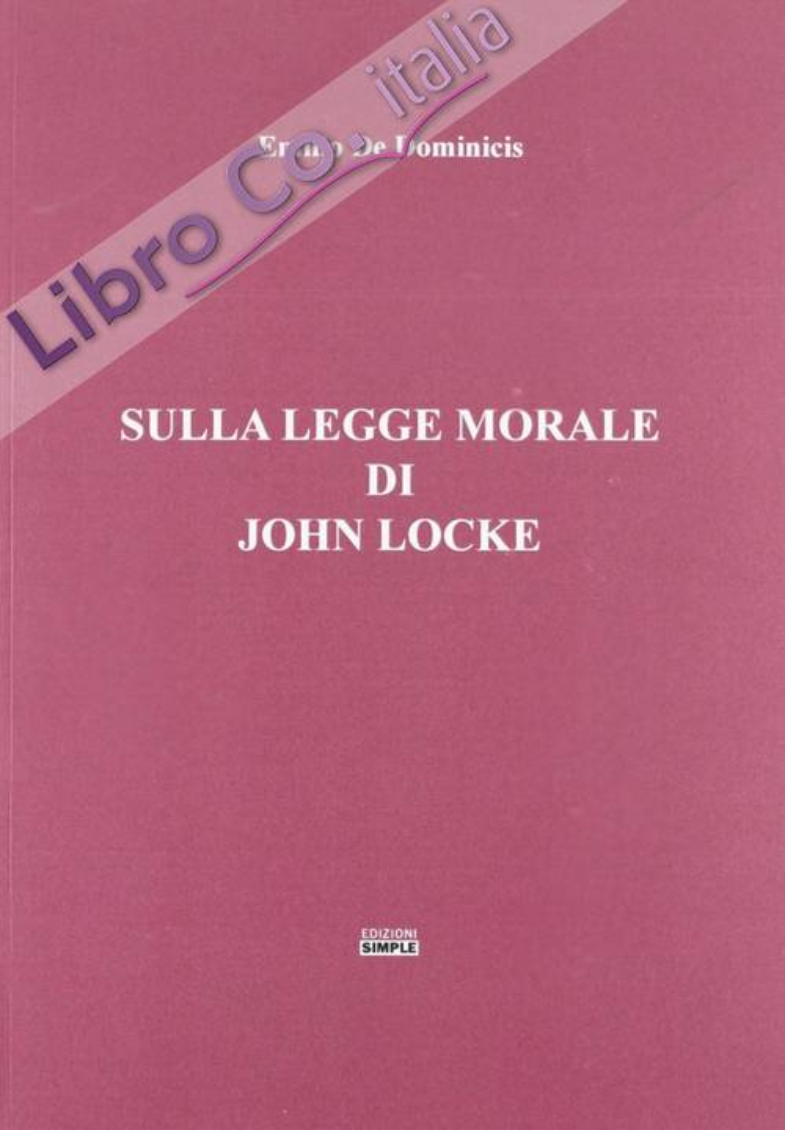 Sulla legge morale di John Locke.