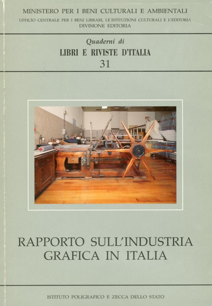 Rapporto sull'industria grafica in Italia