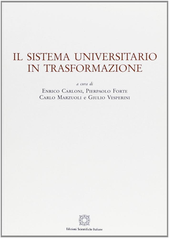 Il sistema universitario in trasformazione