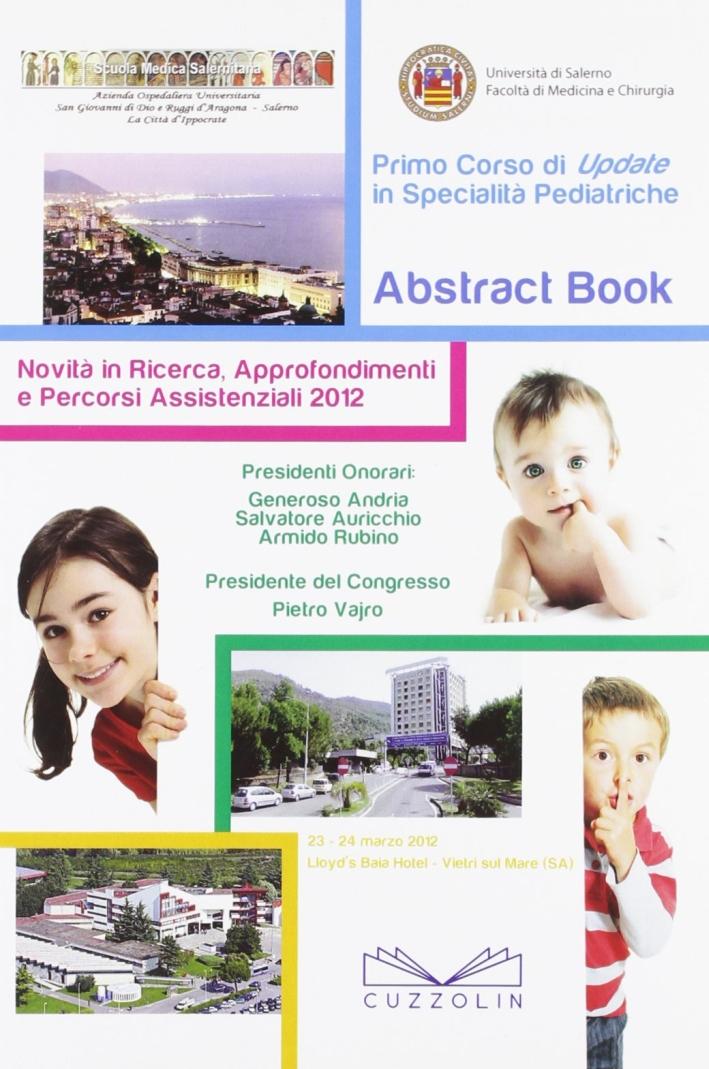 Primo corso di Update in specialità pediatriche