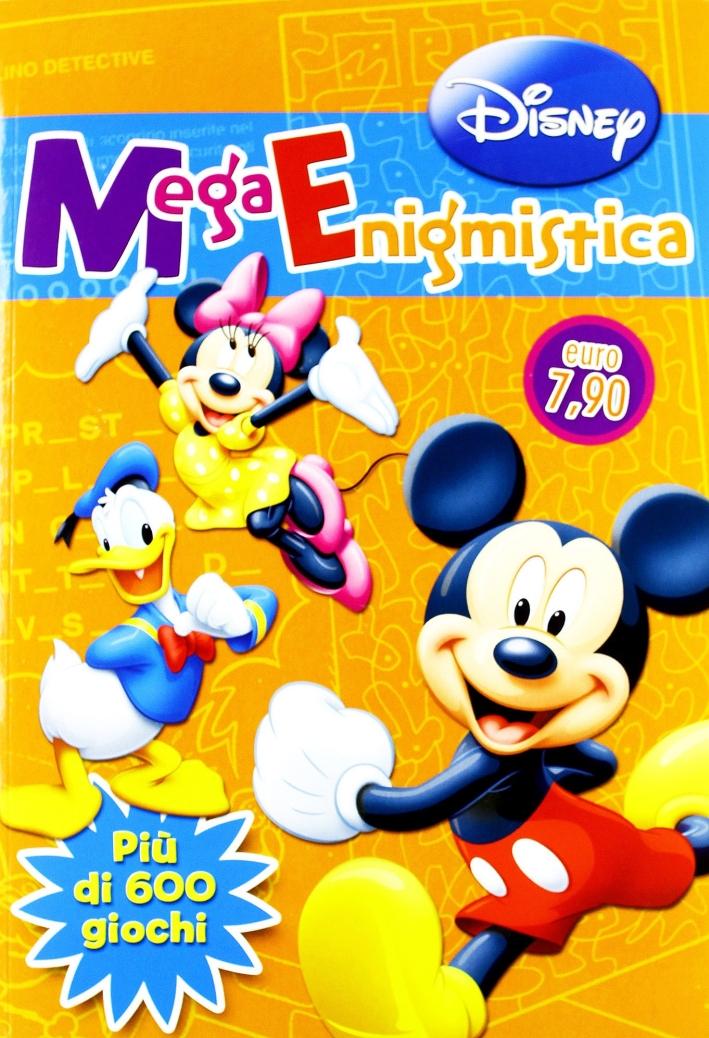 Mega enigmistica Disney.