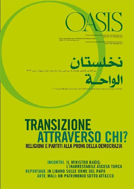 Oasis. Vol. 16: Transizione attraverso chi? Cristiani e musulmani tra aspirazioni democratiche e tentazioni egemoniche