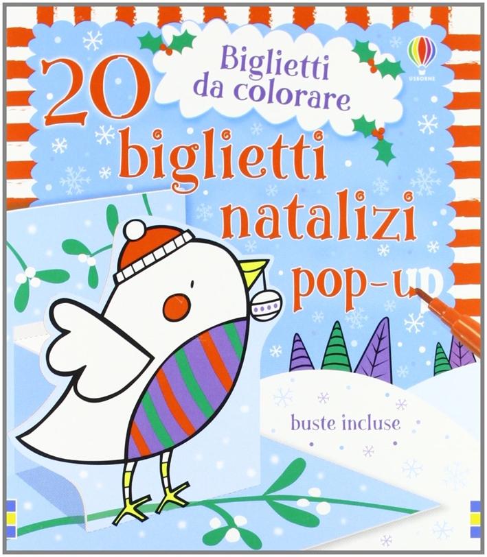 20 biglietti natalizi. Libro pop-up. Ediz. illustrata