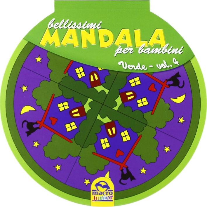 Bellissimi mandala per bambini. Vol. 4: Volume verde
