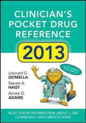 Clinicians Pocket Drug Reference