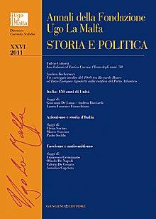 Annali della Fondazione Ugo La Malfa (2011). Vol. 26