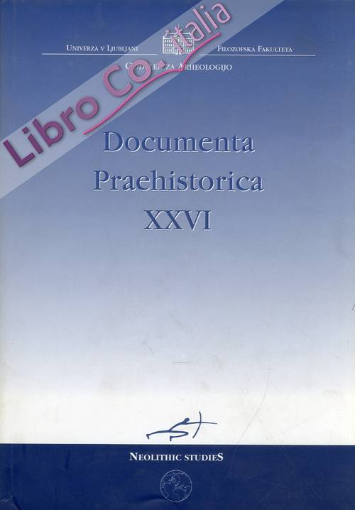 Documenta Praehistorica. XXVI