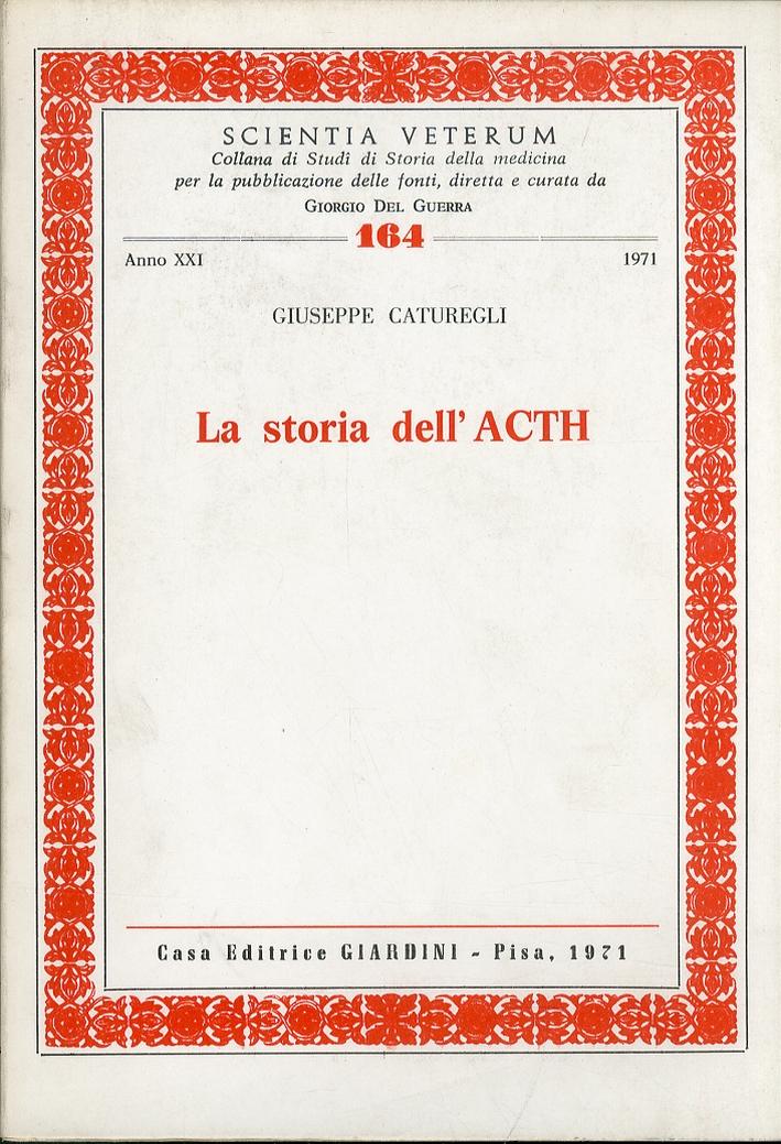 La storia dell'ACTH