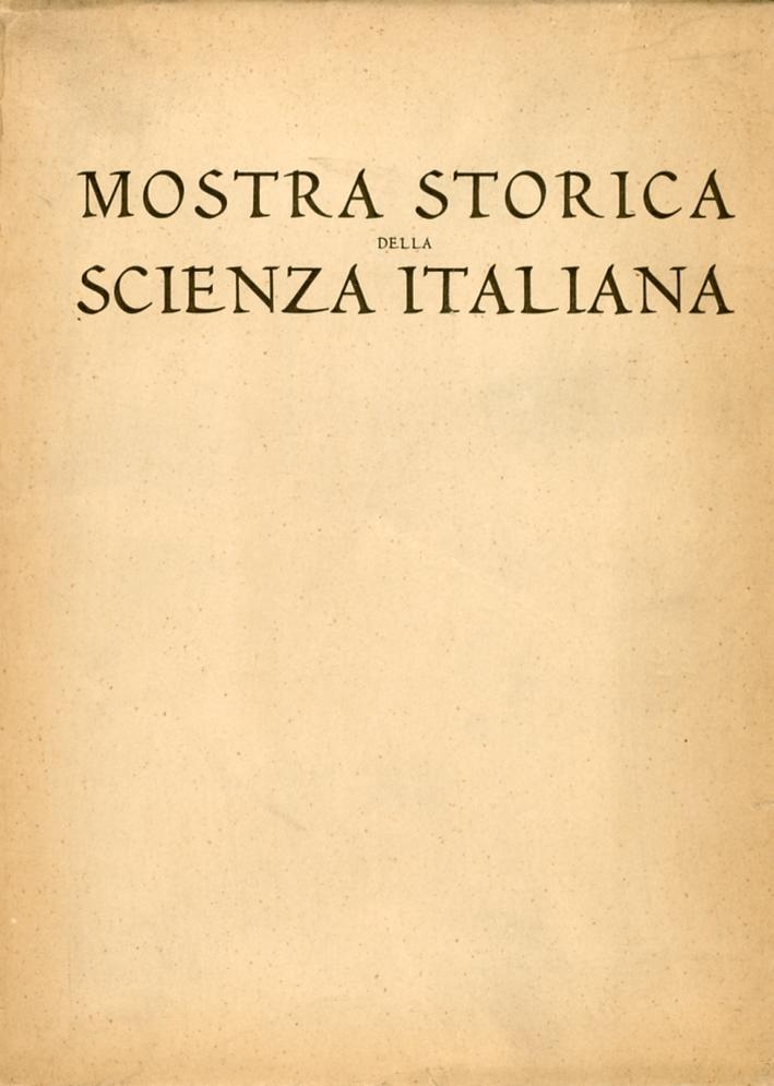 Mostra storica della scienza italiana