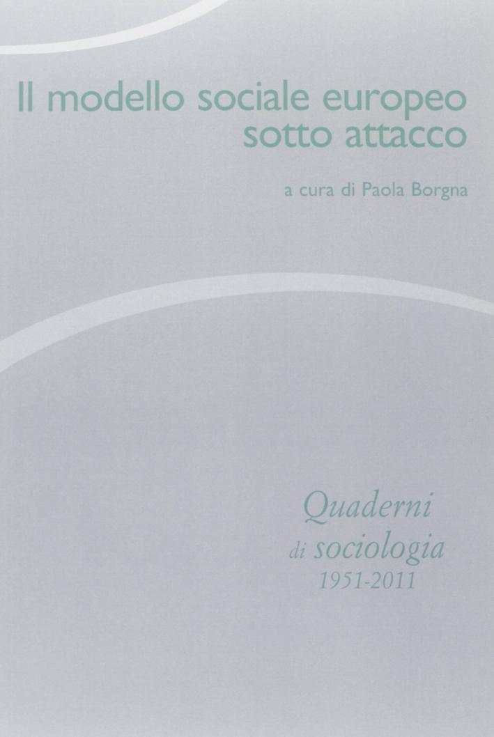 Quaderni di sociologia. Vol. 59