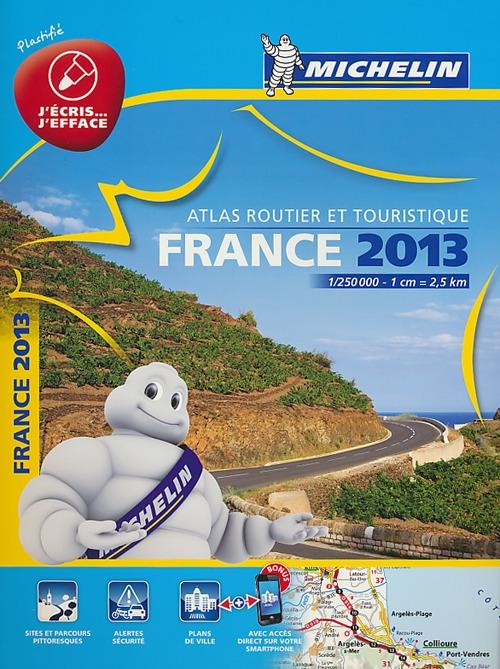 France. Atlas routier et touristique 2013 1:250.000