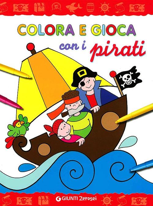 Colora e gioca con i pirati