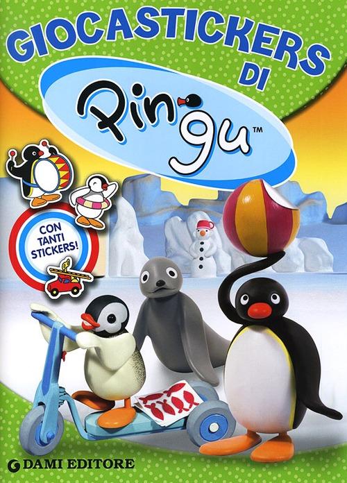 Giocastickers di Pingu. Con adesivi.