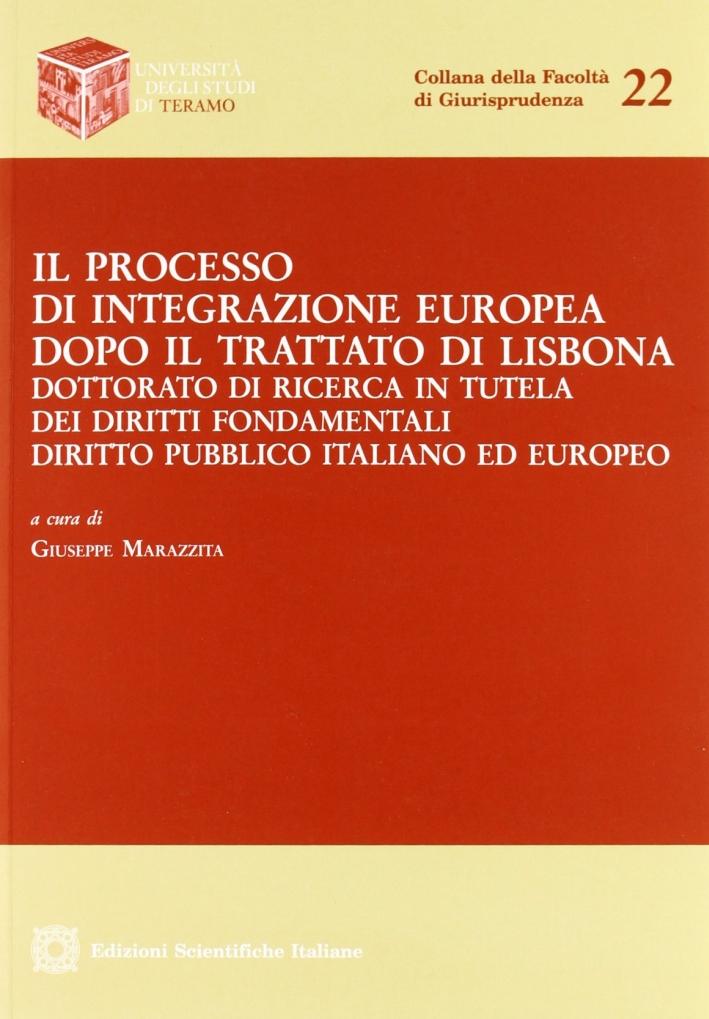 Il processo di integrazione europea dopo il trattato di Lisbona