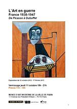 L'art en guerre - france 1938-1947