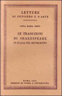 Le traduzioni di Shakespeare in Italia nel Settecento