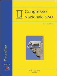 51° Convegno nazionale SNO (Cagliari, 18-21 maggio 2011). Ediz. italiana e inglese