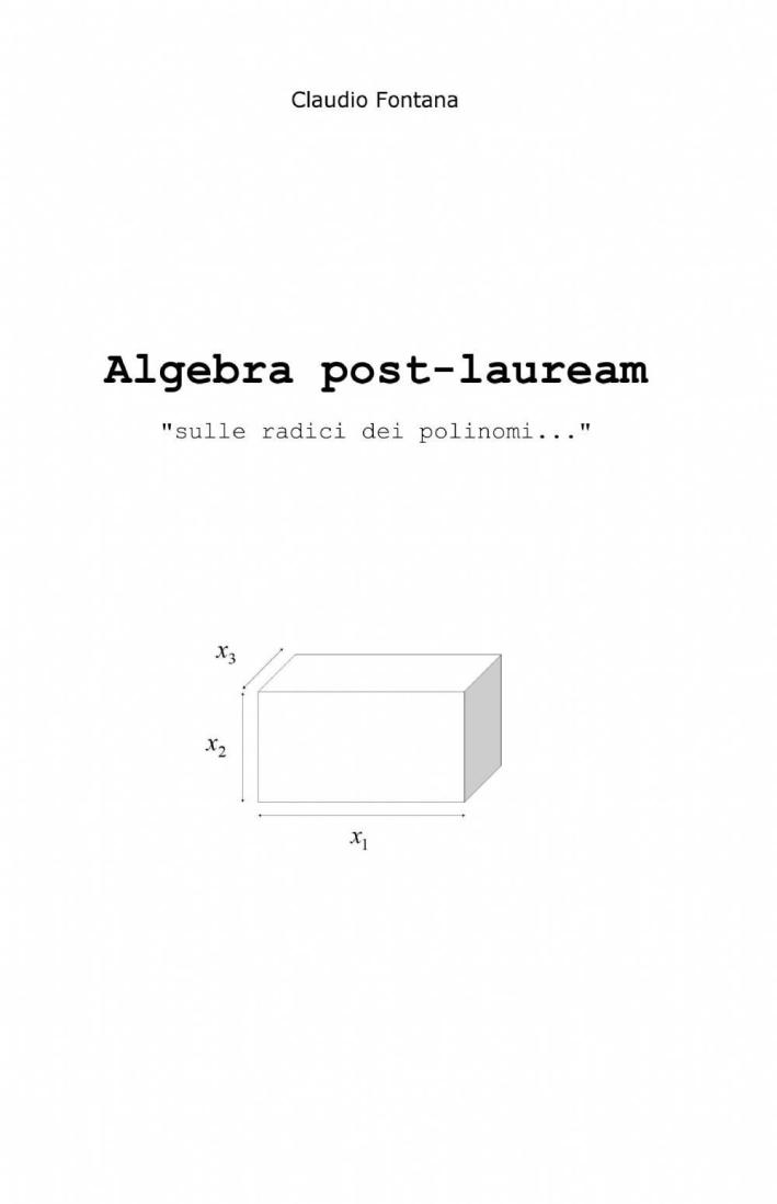 Algebra post-lauream «sulle radici dei polinomi...»