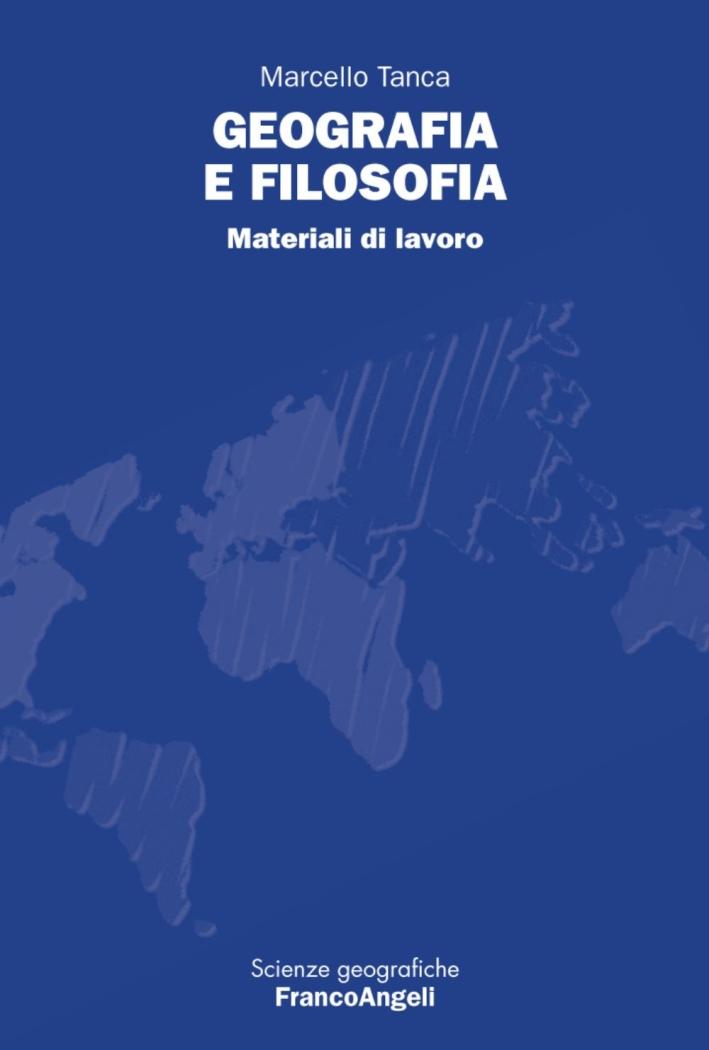 Geografia e filosofia. Materiali di lavoro