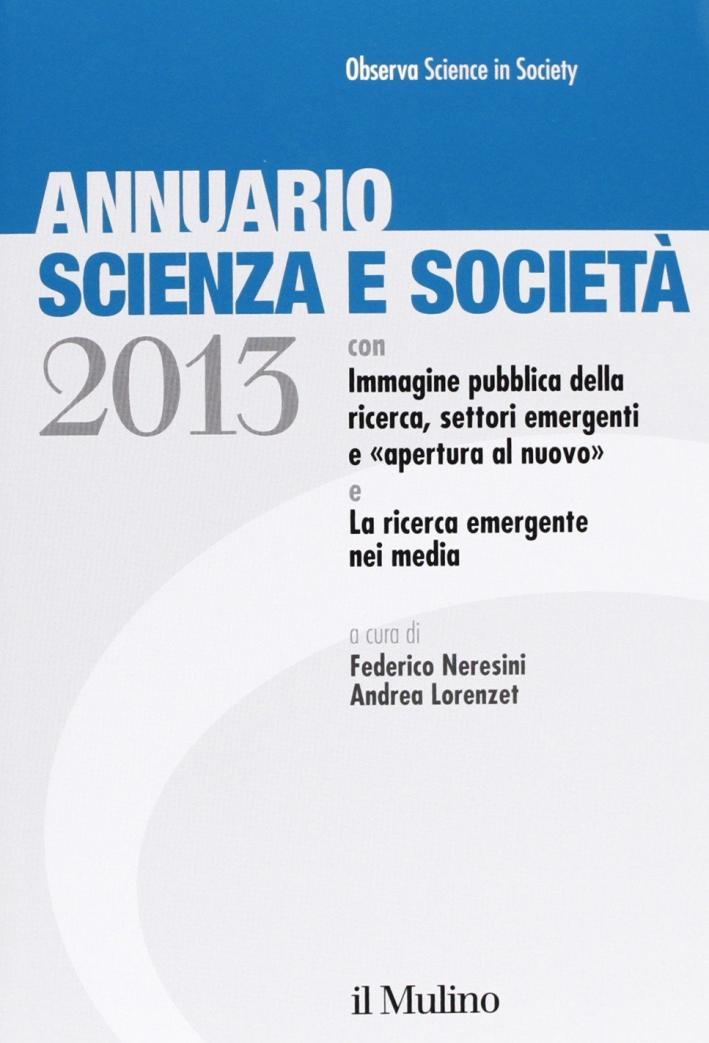 Annuario scienza e società (2013)
