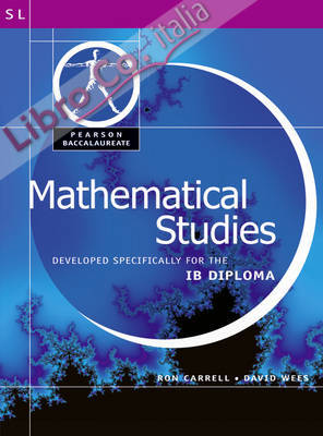 Pearson Baccalaureate: Mathematical Studies for IB Diploma